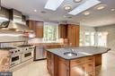 Main Level - Gourmet Kitchen - 11677 DANVILLE DR, ROCKVILLE