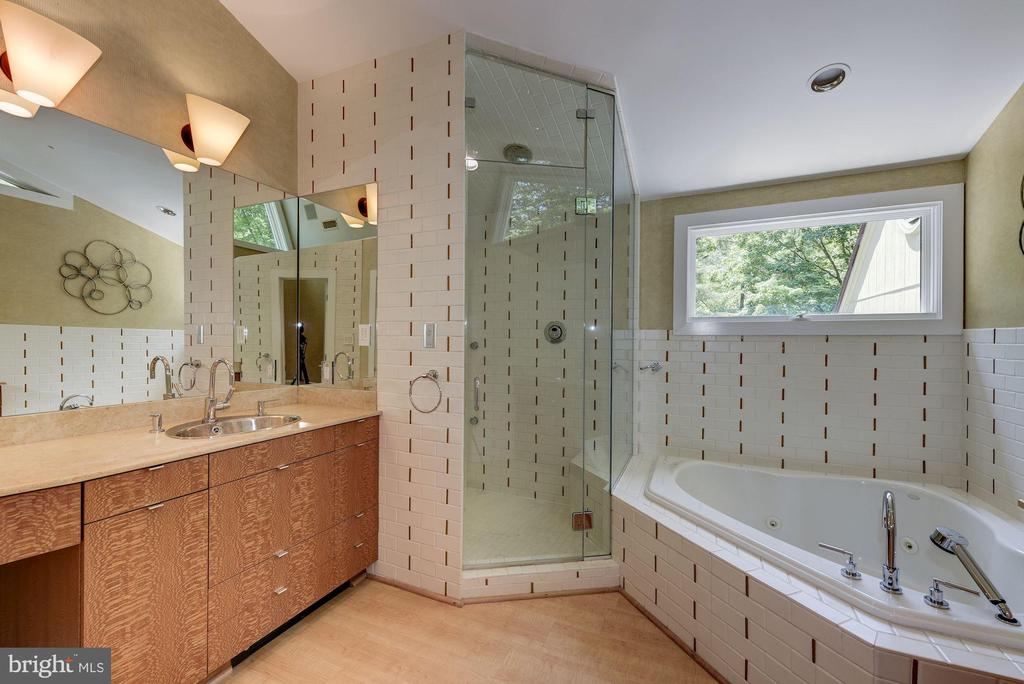 Upper Level - Master Bath w/ 12' vaulted ceiling - 11677 DANVILLE DR, ROCKVILLE