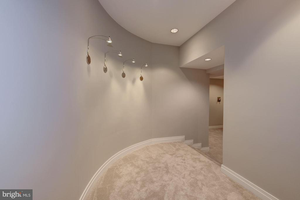 Lower Level - Hallway to Game/Recreation Room - 11677 DANVILLE DR, ROCKVILLE