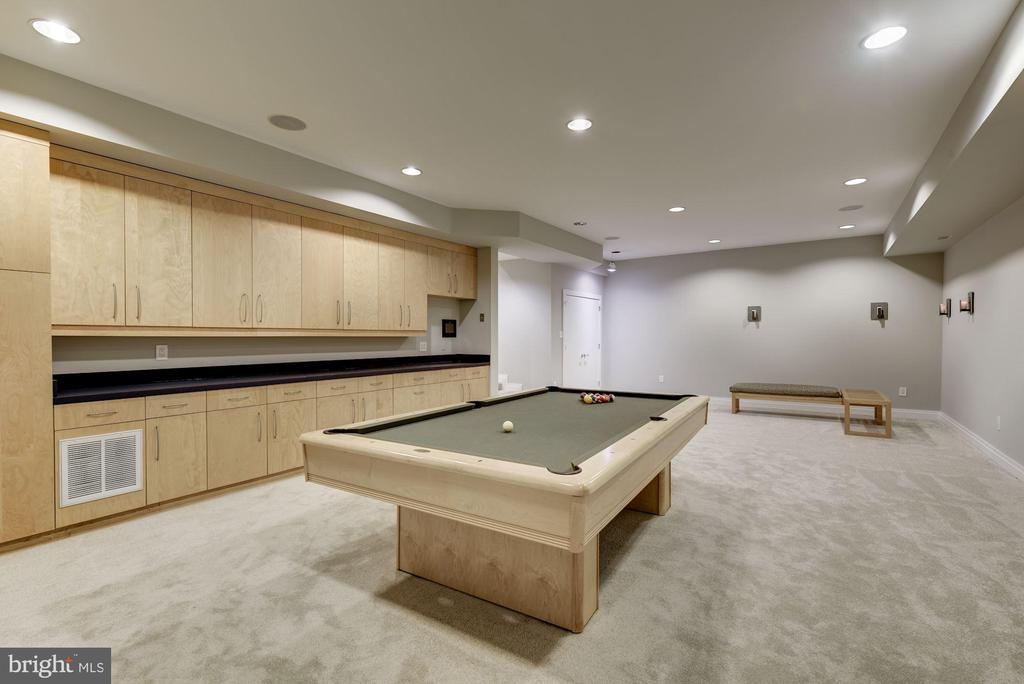 Lower Level - Game/Recreation Room - 11677 DANVILLE DR, ROCKVILLE