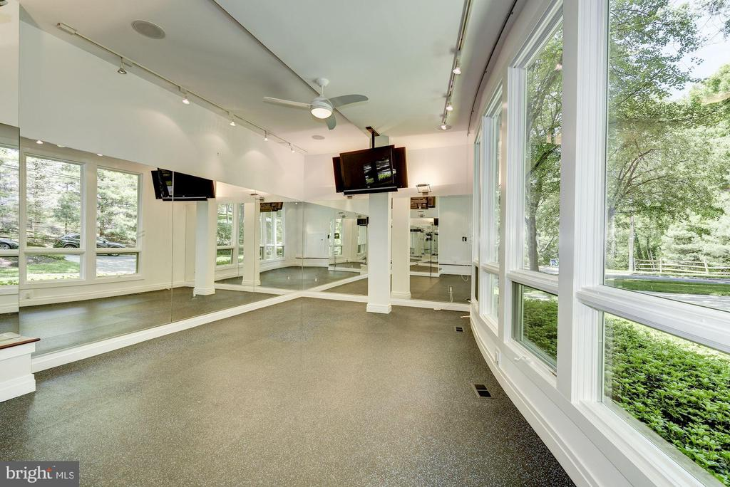 Main Level - Exercise Room - 11677 DANVILLE DR, ROCKVILLE