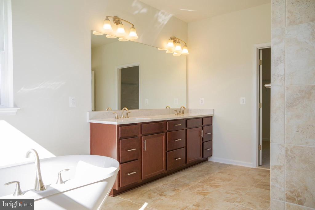 Master Bathroom - 44 SHERMANS RIDGE RD, STAFFORD