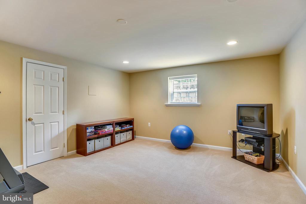 Bonus room in basement w/closet - 732 HUNTON PL NE, LEESBURG