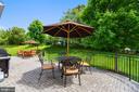 Patio completes this gorgeous home! - 732 HUNTON PL NE, LEESBURG