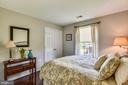 Bedroom #4 with hardwood floors - 732 HUNTON PL NE, LEESBURG