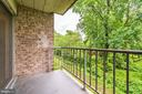 Balcony backs to trees - 12705 LOTTE DR #103, WOODBRIDGE