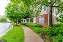 Walking up to the entrance - 42421 ROCKROSE SQ #202, BRAMBLETON