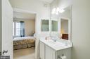 Master bathroom - 42421 ROCKROSE SQ #202, BRAMBLETON