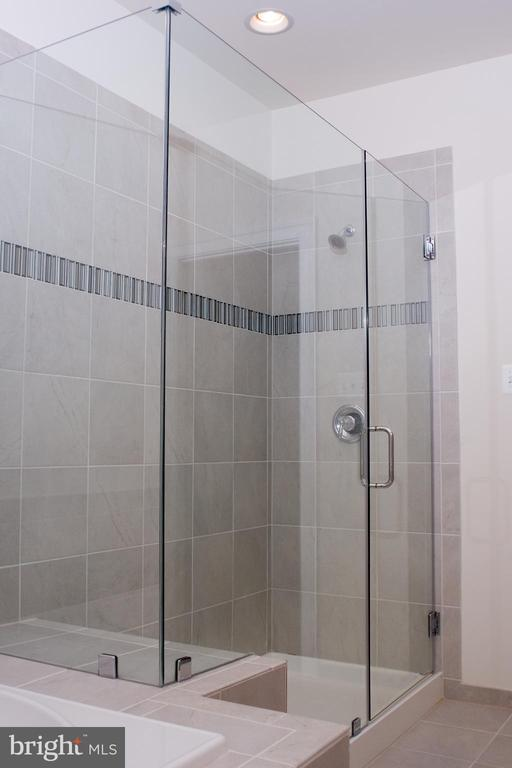Separate stand up shower in master bath - 6438 DRESDEN PL, FREDERICK
