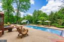Enjoy soothing sounds of spa waterfall into pool - 9179 OLD DOMINION, MCLEAN