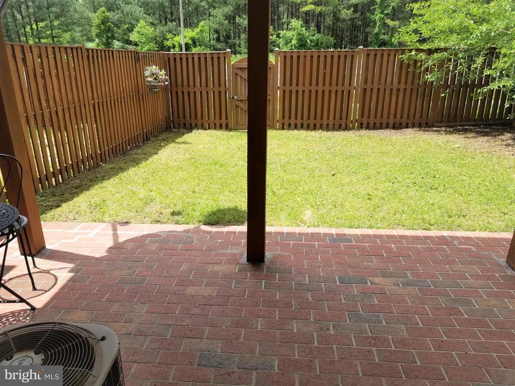 Backyard  1 - 433 ANDROMEDA TER NE, LEESBURG