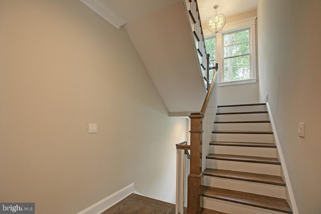 Staircase leading upstairs - 1922 BYRD RD, VIENNA
