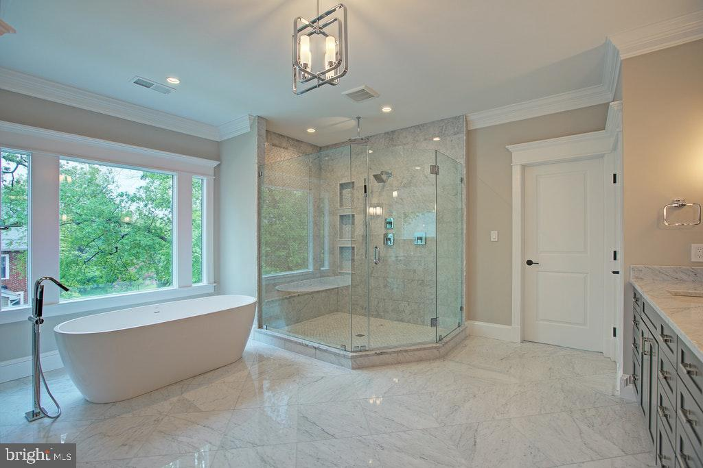 Luxurious Master bath - 1922 BYRD RD, VIENNA