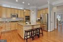 What a Kitchen!! Endless Granite Countertops - 42690 EXPLORER DR, BRAMBLETON
