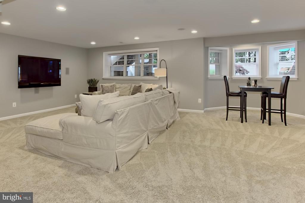 Recessed Lighting + Surround Sound + Walk Up Stair - 42690 EXPLORER DR, BRAMBLETON