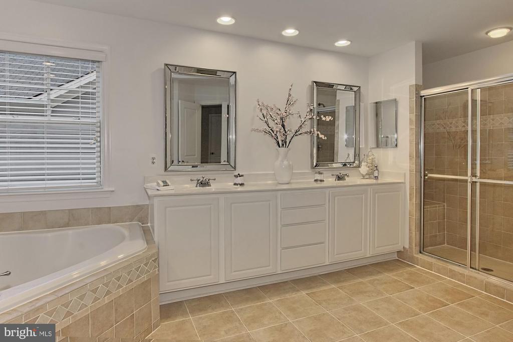 Mirrored Mirrors & Recessed Lighting - 42690 EXPLORER DR, BRAMBLETON