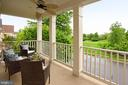 Upper Porch w/ CF Overlooks Gorgeous Park!! - 42690 EXPLORER DR, BRAMBLETON