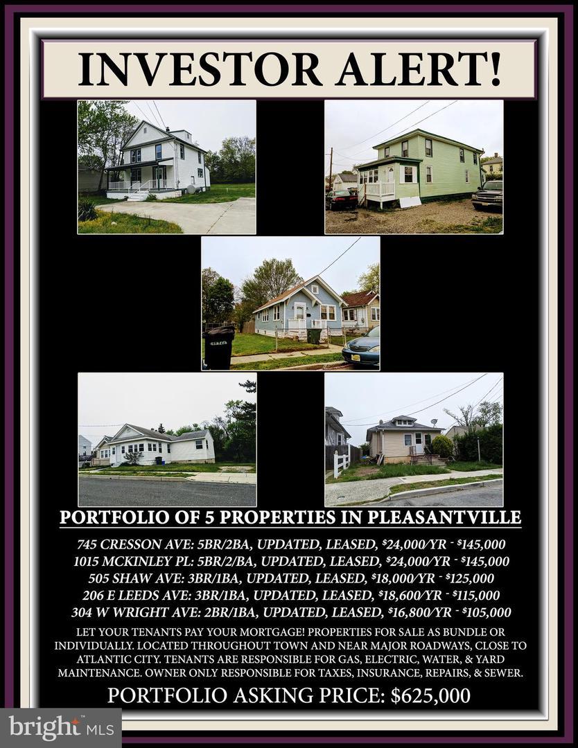 per Vendita alle ore Pleasantville, New Jersey 08232 Stati Uniti