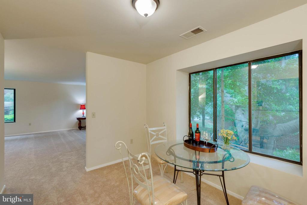 Dining Room w/views - 5967 VALERIAN LN, ROCKVILLE