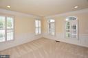 Living room - 8913 GRIST MILL WOODS CT, ALEXANDRIA