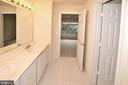 Jack and Jill bath 2nd floor - 8913 GRIST MILL WOODS CT, ALEXANDRIA