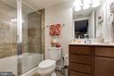 Full bathroom in basement - 1703 GRANVILLE CT, WOODBRIDGE