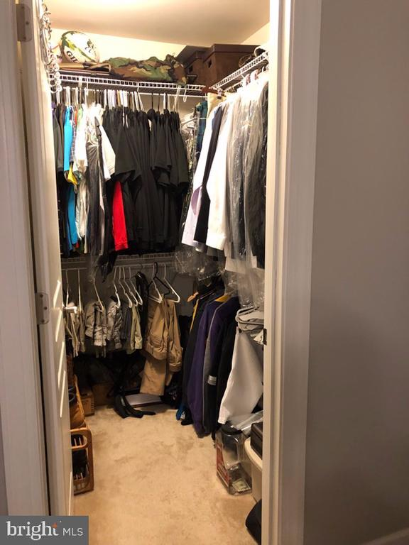 2nd walk-in closet in master bedroom - 1703 GRANVILLE CT, WOODBRIDGE