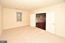 Basement huge bedroom - 8913 GRIST MILL WOODS CT, ALEXANDRIA