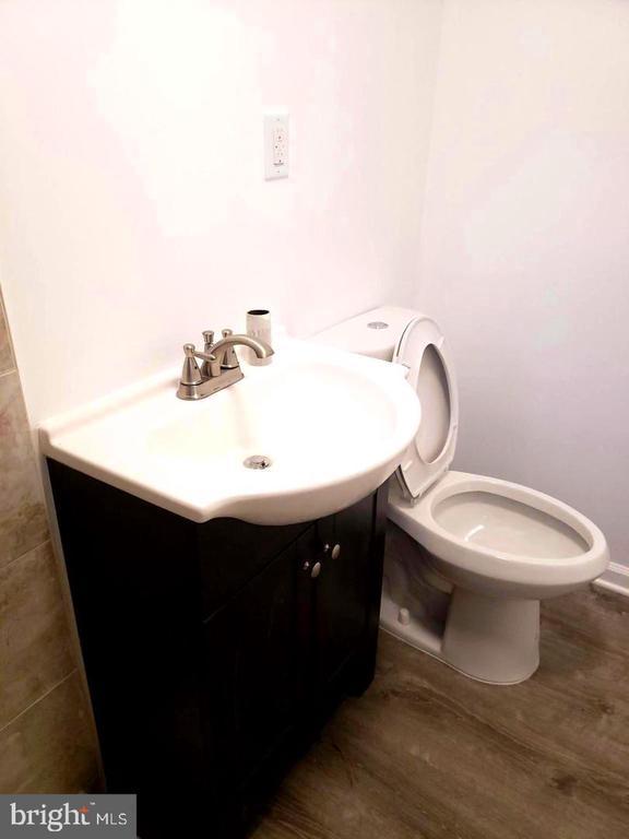 Half bathroom - 4014 71ST AVE, HYATTSVILLE