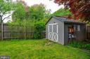 Storage shed - 4007 SPRUELL DR, KENSINGTON