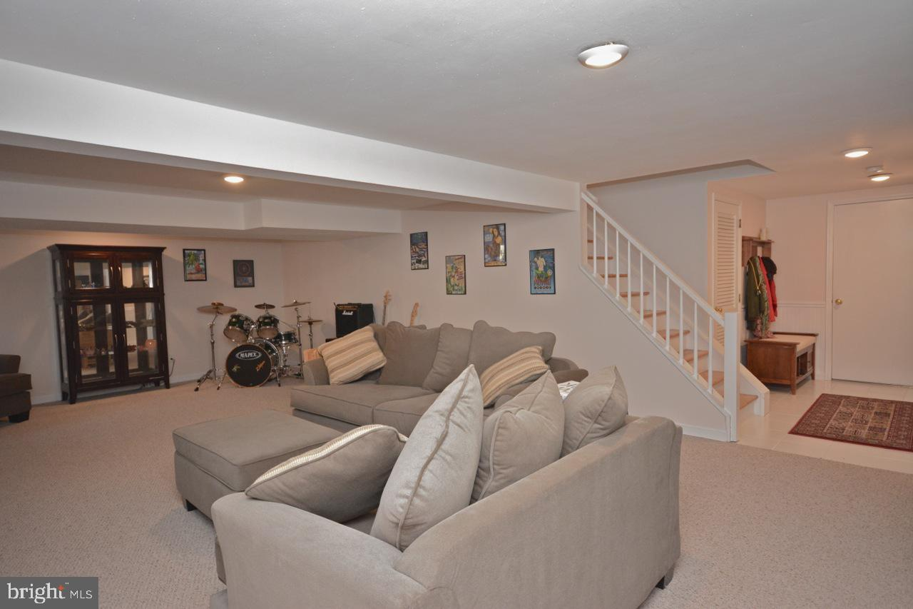 Family room and game room on lower level.