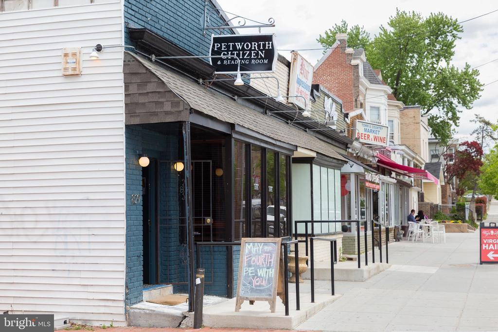 Neighborhood restaurants on Upshur Street - 4326 GEORGIA AVE NW #402, WASHINGTON