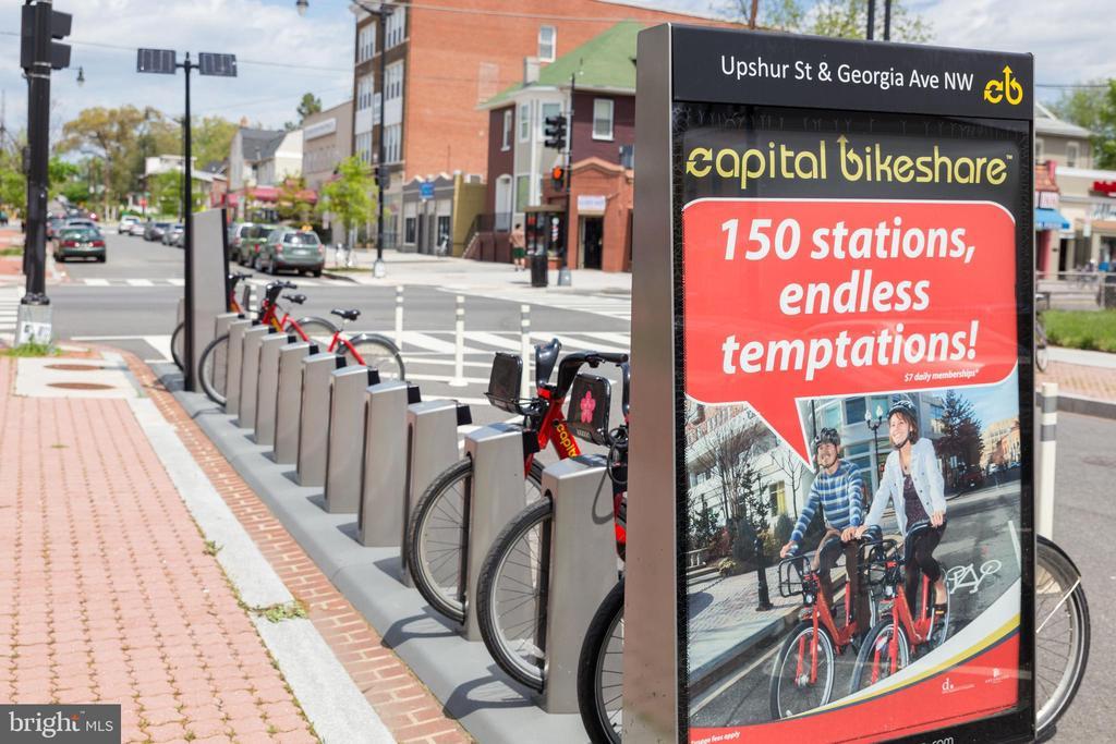 Capital Bikeshare nearby - 4326 GEORGIA AVE NW #402, WASHINGTON