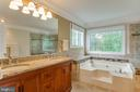 Master Bath - 15612 NEATH DR, WOODBRIDGE
