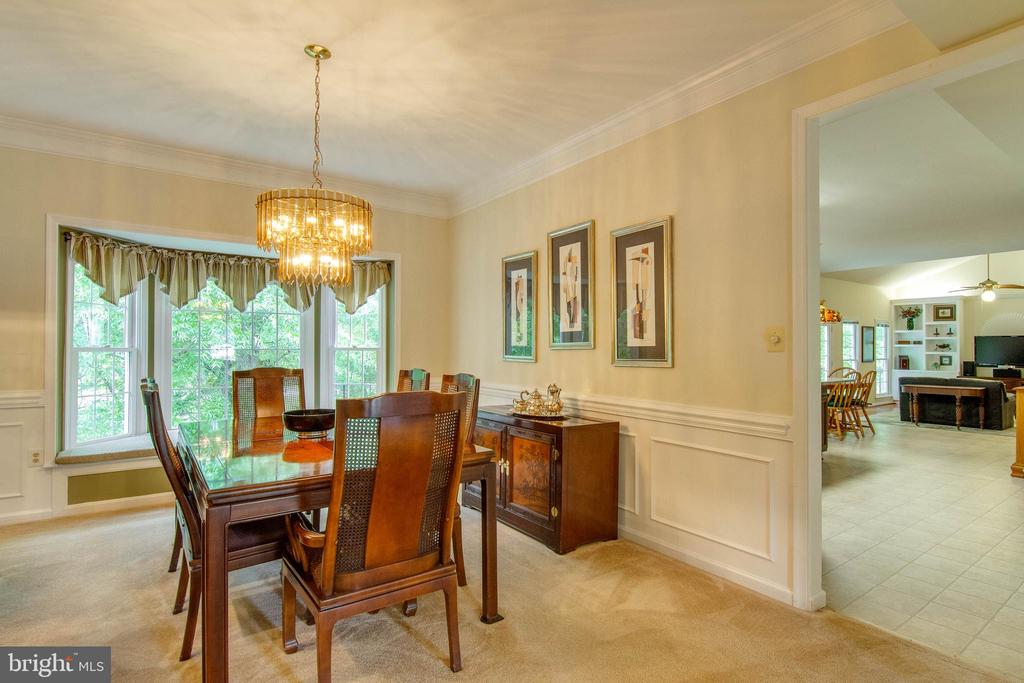 Dining Room - 15612 NEATH DR, WOODBRIDGE