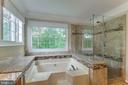 Master Bath - 15612 NEATH DR, WOODBRIDGE