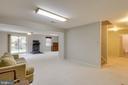 Basement Rec Room - 15612 NEATH DR, WOODBRIDGE