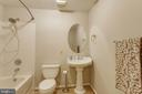Basement 3rd Full Bath - 15612 NEATH DR, WOODBRIDGE