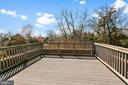 Deck with National Cathedral Views - 3120 WOODLEY RD NW, WASHINGTON