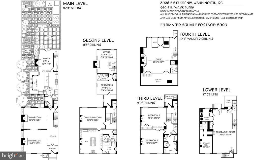 Floorplans - 3026 P ST NW, WASHINGTON