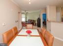 Dining Room toward Living Room - 2711 BELLFOREST CT #307, VIENNA