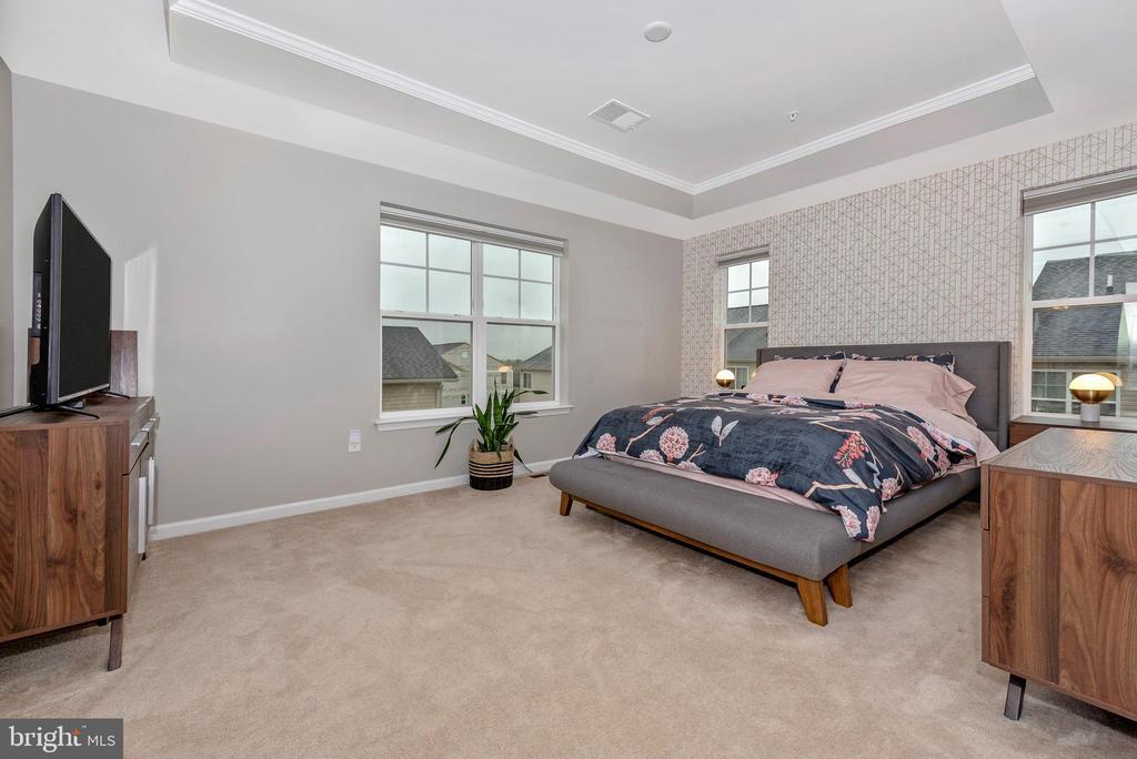 MASTER BEDROOM W/ TREY CEILING - 6175 MARGARITA WAY, FREDERICK