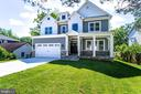 Gorgeous Front elevation - 2043 ARCH DR, FALLS CHURCH