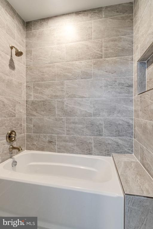 Exquisite details in bathrooms. - 2043 ARCH DR, FALLS CHURCH
