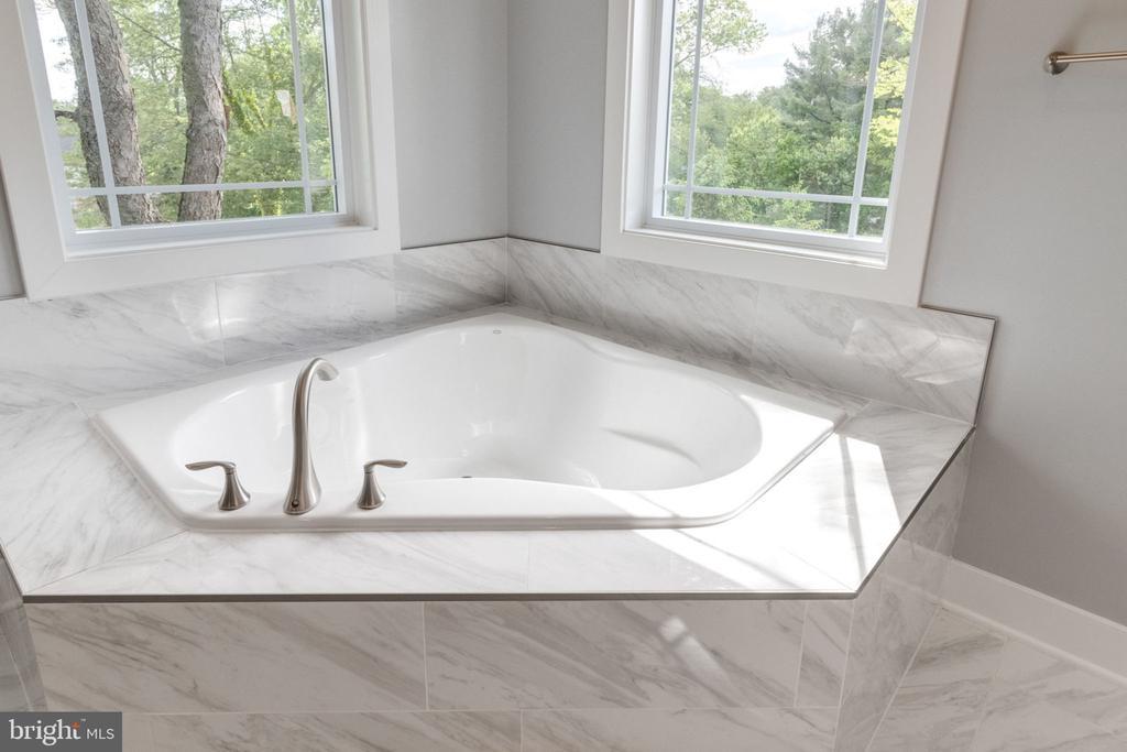 Master bath soaking tub. - 2043 ARCH DR, FALLS CHURCH