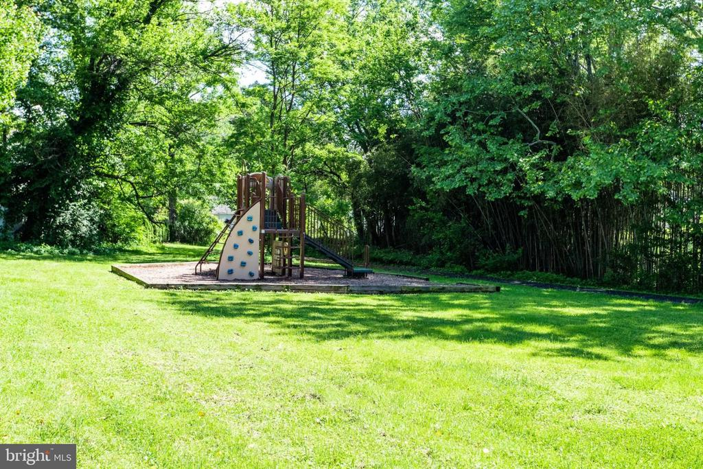 TOT LOT BEHIND THE HOUSE. - 2043 ARCH DR, FALLS CHURCH