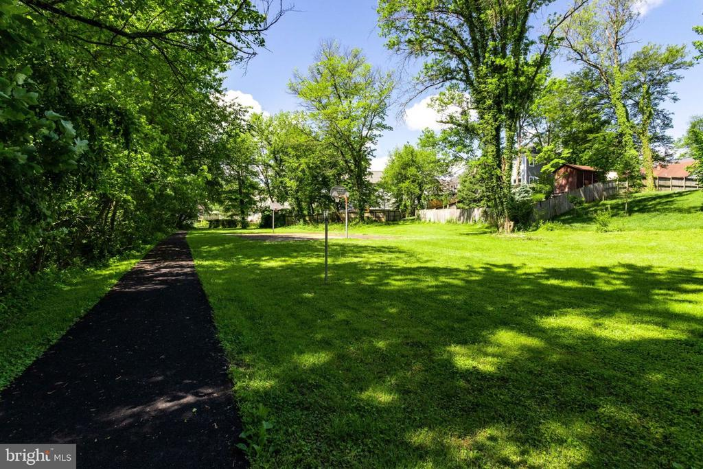 EASY ACCESS TO BASKET BALL COURT. - 2043 ARCH DR, FALLS CHURCH