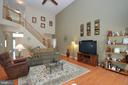 2 Story Family Room - 15537 ALLAIRE DR, GAINESVILLE