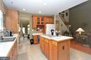 Kitchen w/Island Cooktop - 15537 ALLAIRE DR, GAINESVILLE
