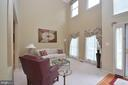 2 Story Living Room - 15537 ALLAIRE DR, GAINESVILLE